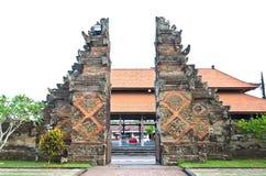传统巴厘语寺庙 免版税图库摄影