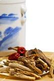 传统01个herbals的系列 库存图片