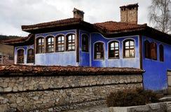 传统Koprivshtitsa之家 免版税库存照片