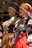 传统setu的歌唱家 库存图片