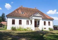 传统Transylvanian豪宅 免版税库存照片