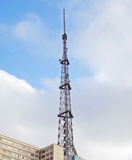 传输tower.transmission线 库存照片