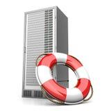 传送带生活服务器 库存例证