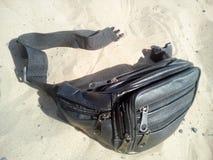 传送带袋子 免版税库存照片