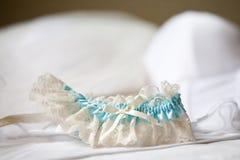 传送带袜带婚礼 库存照片