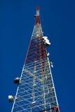 传送的无线电信号 免版税库存图片