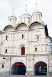 传道者教会十二 全视图 克里姆林宫莫斯科 库存图片