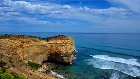 传道者澳洲极大的海洋路十二 库存图片
