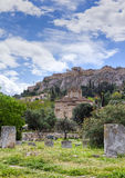 传道者雅典教会圣洁的希腊 免版税库存图片
