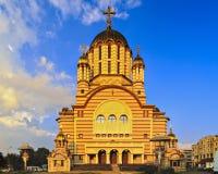 传统东正教在Fagaras 免版税库存照片