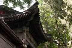 传统中国的寺庙 库存照片