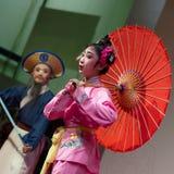 传统中国的歌剧 免版税图库摄影