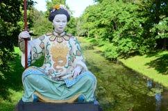 传统中国的衣裳 库存照片