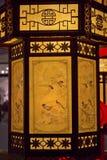 传统中国的闪亮指示 免版税库存图片