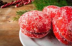 传统俄国和乌克兰圣诞节甜点酥皮点心 库存图片