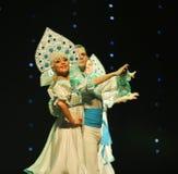 传统俄国婚礼这奥地利的世界舞蹈 免版税库存图片