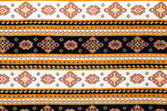 传统保加利亚无缝的刺绣 免版税库存照片