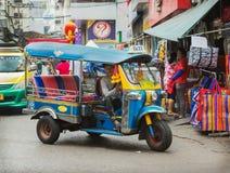 传统出租汽车在泰国 库存照片