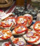 传统匈牙利早餐 库存图片