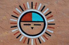 传统印地安凹道 库存图片
