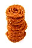 传统印地安快餐 免版税库存照片