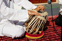 传统印地安tabla鼓 免版税库存图片