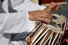 传统印地安tabla鼓 库存照片