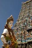传统印度印度喀拉拉南的寺庙 免版税库存图片