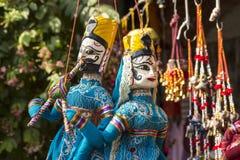 传统印度玩偶 免版税库存图片