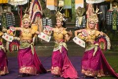 传统巴厘语舞蹈 图库摄影