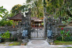 传统巴厘语建筑学 免版税库存图片