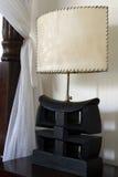 传统和古色古香的卧室别墅 库存照片
