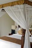 传统和古色古香的卧室别墅 库存图片