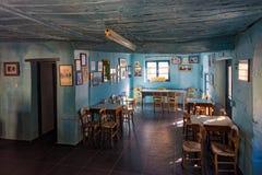传统咖啡馆在希腊 图库摄影
