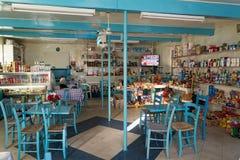 传统商店在希腊 免版税图库摄影