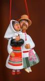传统黏土夫妇 免版税库存图片