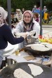 传统土耳其烹调 免版税库存图片