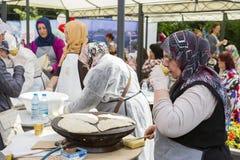 传统土耳其烹调 免版税库存照片