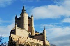 传说城堡 库存图片