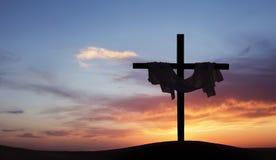 传统基督徒复活节背景 库存图片