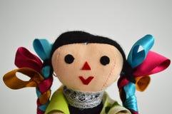 传统墨西哥种族手工制造玩偶 库存图片