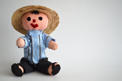 传统墨西哥种族手工制造玩偶 免版税库存图片