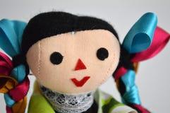传统墨西哥种族手工制造玩偶 图库摄影