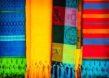 传统墨西哥颈巾 库存图片