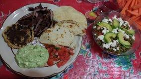 传统墨西哥食物 免版税图库摄影