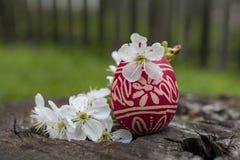 传统复活节彩蛋 库存图片