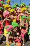 传统夏天桑巴狂欢节在2013年6月7-8的赫尔辛基。 免版税图库摄影
