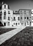 传统威尼斯式庭院 免版税库存图片
