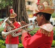传统婚礼乐队 免版税图库摄影