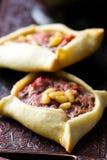 传统黎巴嫩肉馅饼 免版税库存照片